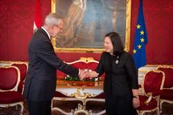 Ambassador of the Kingdom of Thailand to Austria, H.E. Ms. Morakot Sriswasdi.<small>© www.bundespraesident.at / Karlovits, Bauer und Heinschink / HBF</small>
