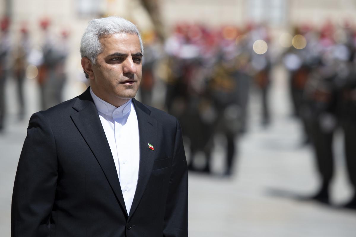 Ambassador of the Islamic Republic of Iran to Austria, H.E. Mr. Abbas Bagherpour Ardakani.<small>© www.bundespraesident.at / Peter Lechner and Harald Minich / HBF</small>