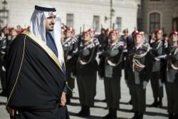 Ambassador of the Kingdom of Saudi Arabia, Prince Abdullah Bin Khaled Bin Sultan Al Saud<small>© www.bundespraesident.at / Carina Karlovits and Peter Lechner / HBF</small>