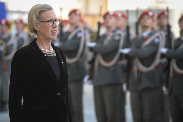 Ambassador of the Kingdom of Sweden to Austria: H.E. Ms. Mikaela Kumlin Granite<small>© www.bundespraesident.at / Karlovits, Bauer and Heinschink / HBF</small>