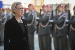 Ambassador of the Kingdom of Sweden to Austria: H.E. Ms. Mikaela Kumlin Granite<small>&copy www.bundespraesident.at / Karlovits, Bauer and Heinschink / HBF</small>