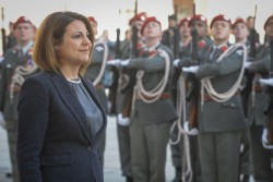 Ambassador of the Republic of Malta to Austria: H.E. Ms. Natasha Meli Daudey<small>&copy www.bundespraesident.at / /Karlovits, Bauer und Heinschink / HBF</small>
