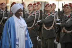 Ambassador of the Republic of Sudan to Austria: H.E. Mr. Mirghani Abbaker Altayeb Bakhit<small>&copy www.bundespraesident.at / Karlovits, Bauer und Heinschink / HBF</small>