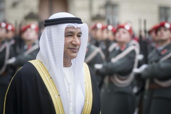Ambassador of the United Arab Emirates, H.E. Ibrahim Salim Mohamed Al Musharrakh<small>© www.bundespraesident.at / Carina Karlovits and Clemens Schwarz / HBF</small>