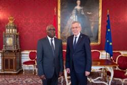 Ambassador of the Togolese Republic to Austria: H.E. Mr. Komi Bayédzè Dagoh<small>&copy www.bundespraesident.at / Carina Karlovits and Daniel Trippolt/HBF</small>