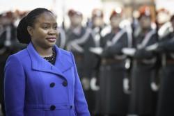 Ambassador of the Republic of Trinidad and Tobago to Austria: H.E. Ms. Makeda Antoine<small>© www.bundespraesident.at / Carina Karlovits and Laura Heinschink/HBF</small>