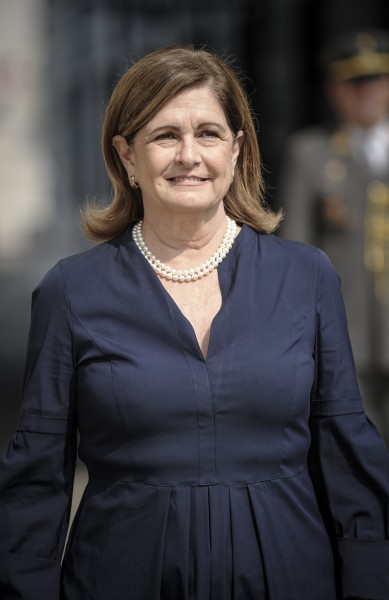 Ambassador of the Republic of Panama to Austria: H.E. Ms. Annabella Guardia Escoffery de Rubinoff<small>© www.bundespraesident.at / Clemens Schwarz / HBF</small>