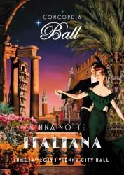 The 2019 Concordia Ball on June 14th celebrates Italy's cultural diversity and richness under the motto &amp;quot;Una Notte Italiana&amp;quot;.<small>&copy Presseclub Concordia</small>