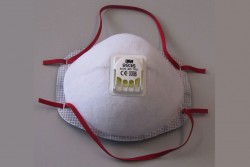 disposable breathing air mask.'