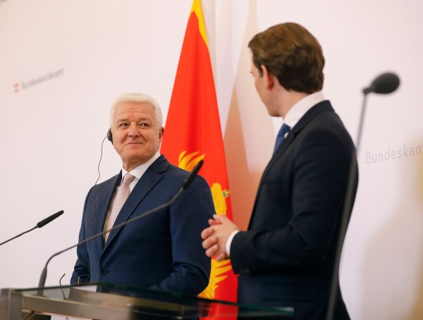 """Austria is and remains a reliable partner of Montenegro and the Western Balkans region,"" declared Federal Chancellor Kurz.<small>© Bundeskanzleramt (BKA) / Dragan Tatic</small>"