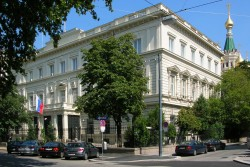 Palais Simon, Palais Nassau,  Russian Embassy in Vienna - The building at Reisnerstrasse 45-47 in 1030 Vienna has an incredible history.<small>© Wikimedia Commons / www.rusemb.at [CC BY 3.0 (https://creativecommons.org/licenses/by/3.0)]</small>