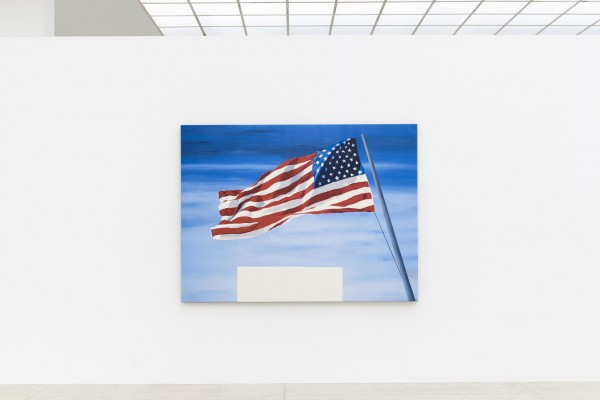 Ed Ruscha, Mother's Boys (reverse), 2018, exhibition view Secession 2018<small>© Sophie Thun, Courtesy of the artist and Gagosian</small>