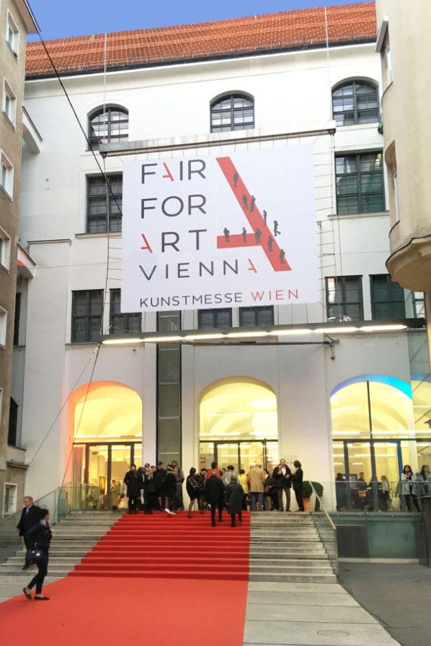 """The """"Fair for Art Vienna"""" is in its already 4th year firmly anchored in the Vienna art scene.<small>© FAIR FOR ART VIENNA / Verband Österreichischer Antiquitäten- und Kunsthändler</small>"""