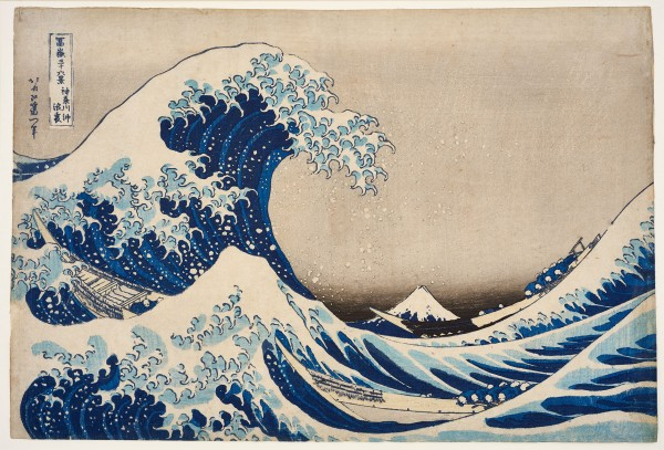 """Fascination Japan"" illuminates the booming enthusiasm of the western world in the late 19th century for exotic objects, fabrics and woodcuts from Japan. (Kasushika Hokusai - 
