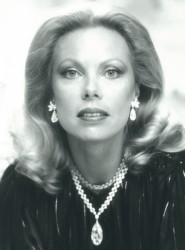 Heidi Goëss-Horten pictured in 1966  with her Wittelsbach-Graff Diamond, which is a 31.06-carat (6.212 g) deep-blue diamond with internally flawless clarity, and which was sold in 2008 for $ 24 million.<small>&copy The Heidi Horten Collection</small>