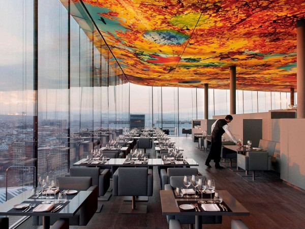 """""""The Loft"""" itself, the fine dining restaurant on the 18th floor, is not undergoing any changes<small>© Accor Hotels /Sofitel Vienna Stephansdom</small>"""
