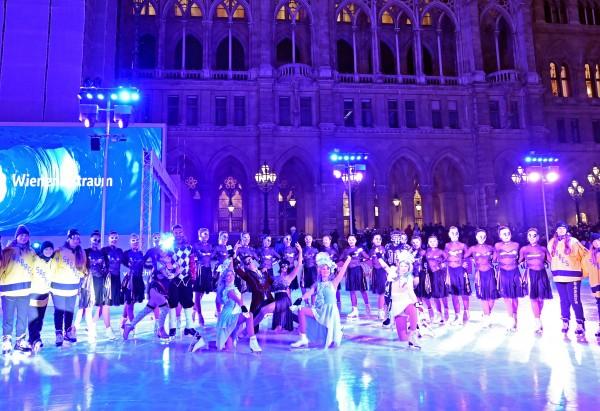 Opening of the 25th Vienna Ice Dream (Wiener Eistraum).<small>© Magistrat der Stadt Wien / C.Jobst/PID</small>