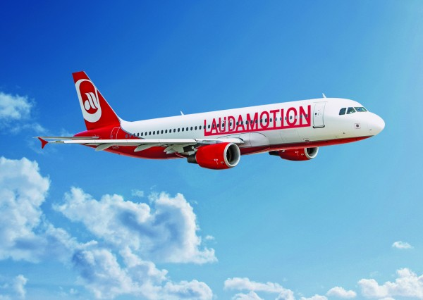 "Laudamotion ""deeply regrets the loss of more than 300 jobs for A320 crews and the closure of Lauda's A320 base in Vienna.""<small>© Laudamotion</small>"