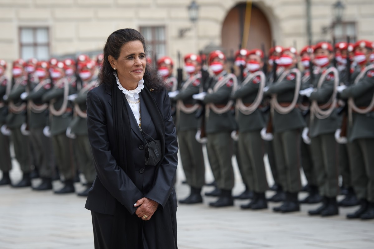 New Ambassador to Austria and Permanent Representative of the Dominican Republic to the UNOV, HE Ms. Laura Virginia Faxas de Jorgensen.<small>© www.bundespraesident.at / Peter Lechner / HBF and Lukas Hardt-Stremayr</small>