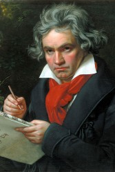 The year 2020 will be dominated by Vienna's great musician and composer: Ludwig van Beethoven.<small>© Wikimedia Commons / Joseph Karl Stieler [Public Domain]</small>