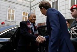 World's Oldest Prime Minister (93) Meets Europe's Youngest (32)<small>&copy Bundeskanzleramt (BKA) / Dragan Tatic</small>