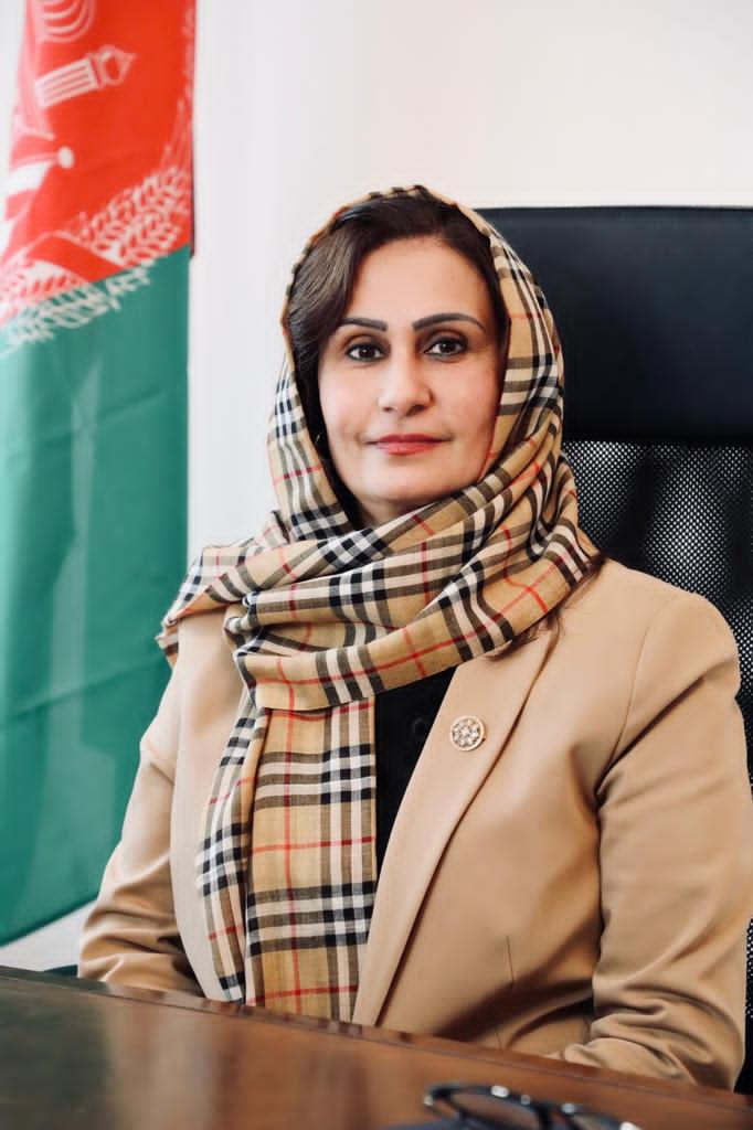 H.E. Ms. Manizha Bakhtari, Ambassador of the Islamic Republic of Afghanistan to the Republic of Austria<small>© Embassy of Afghanistan in Vienna</small>