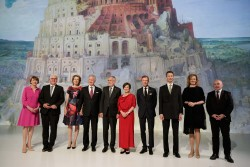 The countries whose heads of state participate in the annual informal meetings of the German-speaking countries: Austria, Belgium, Germany, Liechtenstein, Luxembourg and Switzerland.<small>© Österreichische Präsidentschaftskanzlei / Peter Lechner/HBF</small>