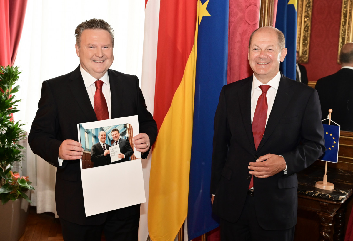 Vienna's Mayor Michael Ludwig Met German Vice Chancellor and Minister of  Finance Olaf Scholz - Vindobona.org | Vienna International News