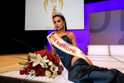 Miss Europe 2020, Ljubica Rajković from Serbia.<small>© Miss Europe Organization licensed by Miss Earth</small>