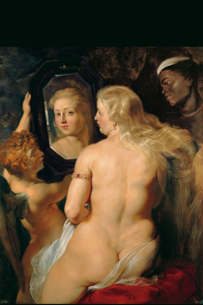 Peter Paul Rubens: Venus in Front of the Mirror, ca. 1614/15 (Oil on panel)<small>© LIECHTENSTEIN. The Princely Collections, Vaduz–Vienna</small>