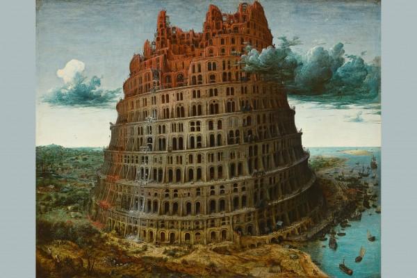 Pieter Bruegel the Elder - The Tower of Babel<small>© KHM-Museumsverband / Museum Boijmans Van Beuningen, Rotterdam</small>