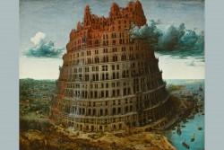 Pieter Bruegel the Elder - The Tower of Babel<small>&copy KHM-Museumsverband / Museum Boijmans Van Beuningen, Rotterdam</small>