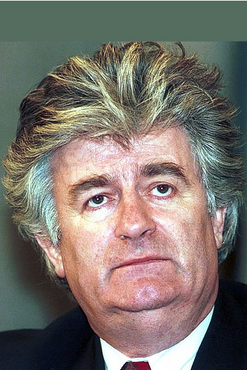 The face of genocide: Radovan Karadžić (picture from 1994), former president of Republika Srpska, was found guilty on 24 March 2016 of genocide, war crimes and crimes against humanity, and sentenced to 40 years' imprisonment.<small>© Wikimedia Commons / Mikhail Evstafiev / CC BY-SA (https://creativecommons.org/licenses/by-sa/2.5)</small>