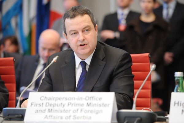 ivica dačić in vienna serbia takes over osce chairmanship from