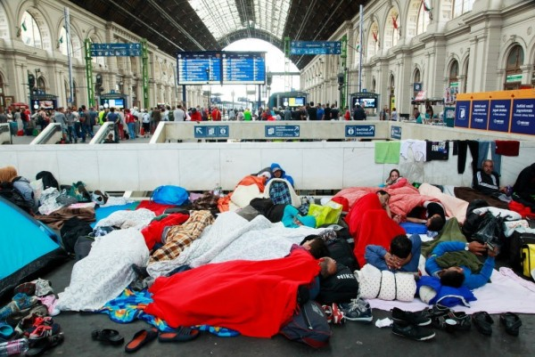Criticism of the Treatment of Refugees - UN High Commissioner for Human Rights Sends Team to Vienna<small>© Wikipedia / Entbert</small>