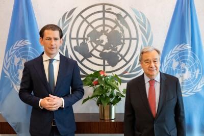 Kurz Visits USA and Meets with UN Secretary-General Guterres - Vindobona