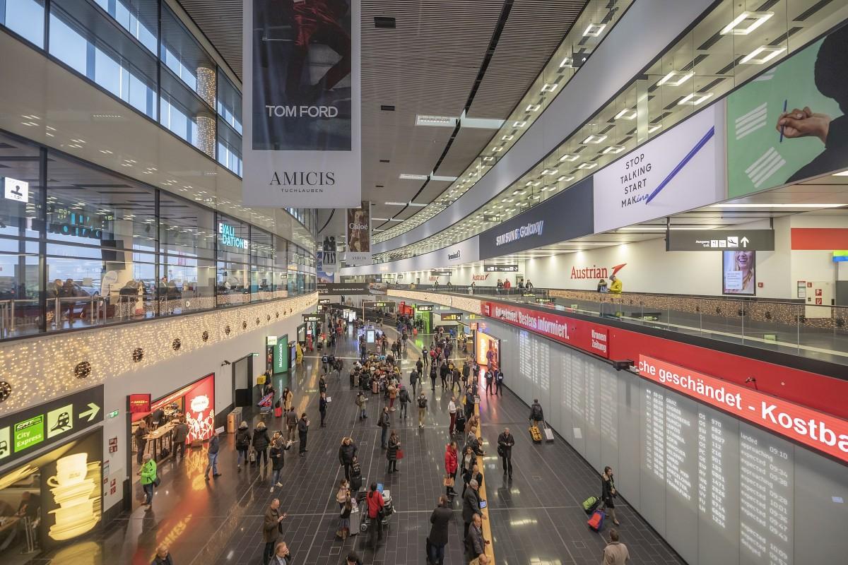 فرودگاه وین اتریش - دیجی چارتر