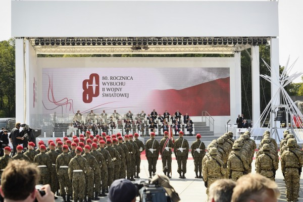 The outbreak of the Second World War 80 years ago was celebrated in Warsaw with an act of state and commemoration in the presence of high-ranking representatives from more than 30 countries.<small>© Parlamentsdirektion / Johannes Zinner</small>