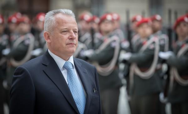 New Ambassador of Montenegro to Austria Mr. Zeljko Perovic presenting Letter of Credence to Austrian Federal President Alexander Van der Bellen at the Imperial Palace in Vienna<small>© www.bundespraesident.at / Daniel Trippolt / HBF</small>